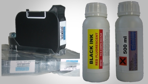 Original industrial security inkjet inks special fluorescent UV black