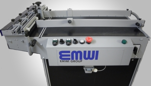 Universal Air suction vacuum feeder perforating inkjet system tape application
