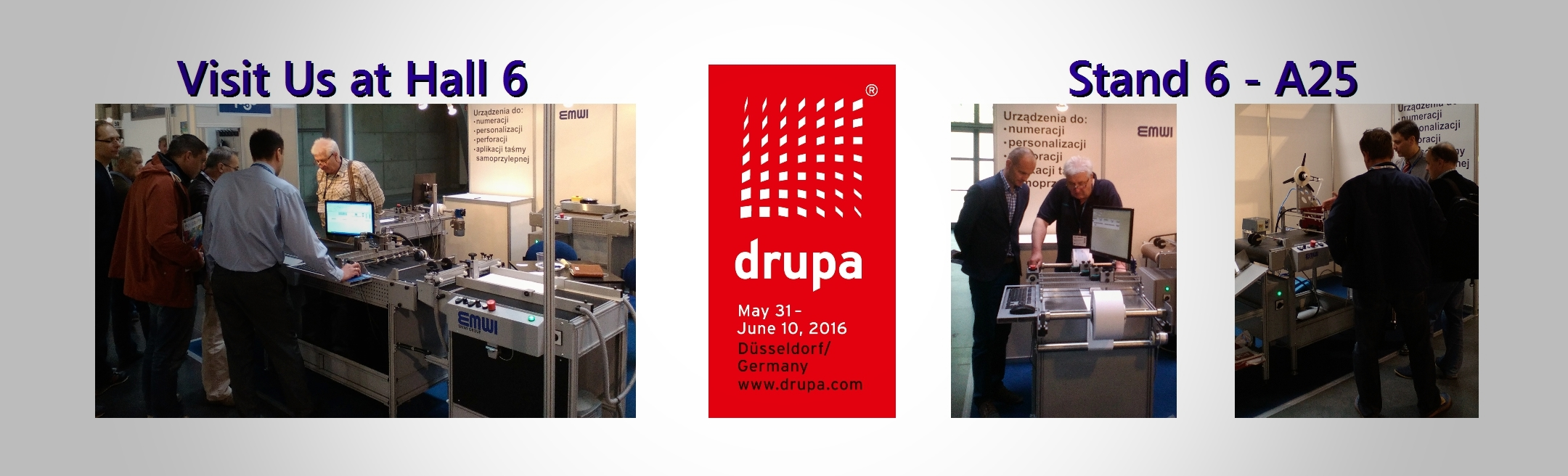 Inkjet systems Tape Application Security inks at Drupa 2016