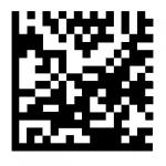 Datamatrix barcode